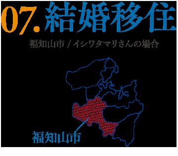07.結婚移住 福知山市/イシワタマリさんの場合