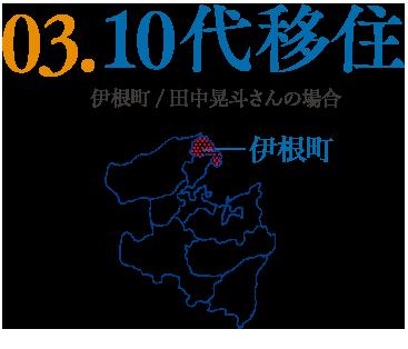 03.10代移住 伊根町/田中晃斗さんの場合